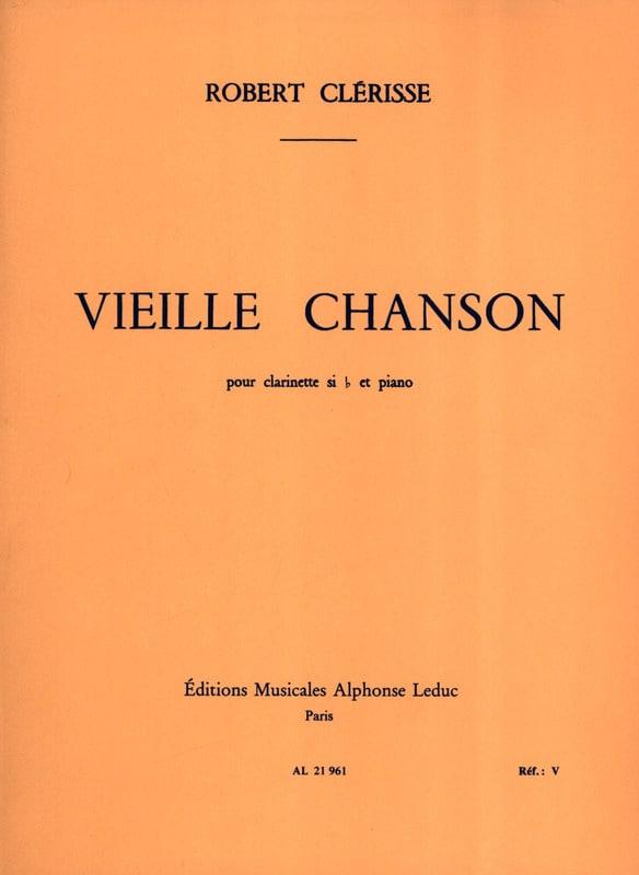 Vieille chanson - Robert Clerisse - Partition - laflutedepan.com