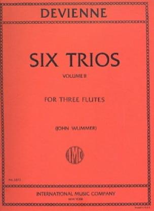 6 Trios Volume 2 - 3 Flutes - DEVIENNE - Partition - laflutedepan.com