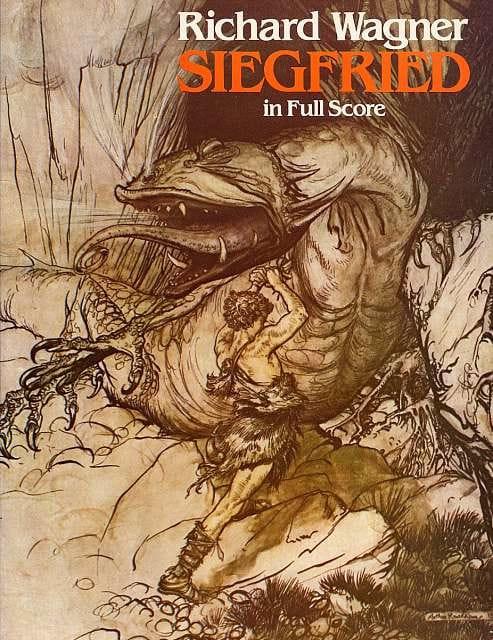 Siegfried - Full Score - WAGNER - Partition - laflutedepan.com