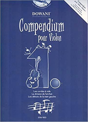 Compendium Pour Violon Volume 1 - Partition - laflutedepan.com