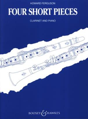 4 Short pieces - Clarinet and piano Howard Ferguson laflutedepan