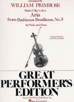Aria Bachianas Brasilieras n° 5 - Viola or Cello laflutedepan