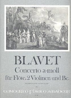 Michel Blavet - Concerto a-moll f. Flöte - Flöte Klavier - Partition - di-arezzo.co.uk