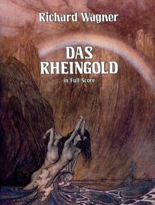 L'Or du Rhin - Full Score WAGNER Partition Grand format - laflutedepan