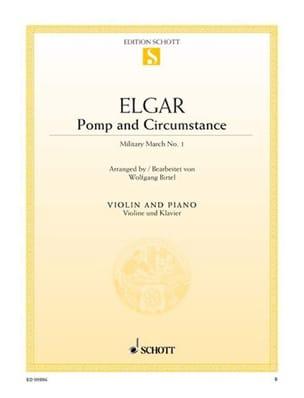 Pomp And Circumstance - Violon ELGAR Partition Violon - laflutedepan