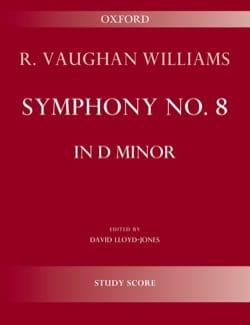 Symphonie n° 8 - Conducteur WILLIAMS VAUGHAN Partition laflutedepan