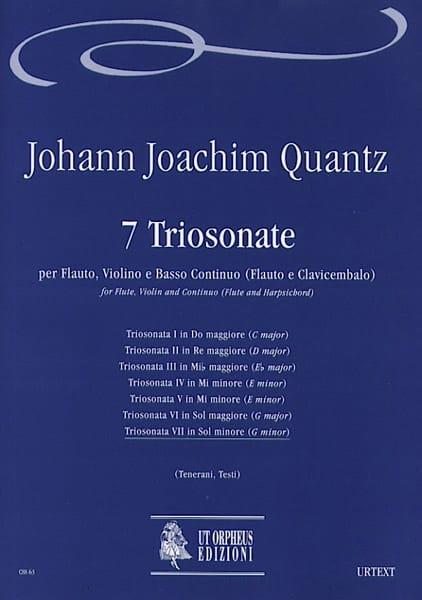 Triosonata n° 7 in sol minore -Flauto, violino e bc - laflutedepan.com