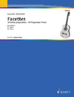 Facettes - Guitare - Laurent Méneret - Partition - laflutedepan.com