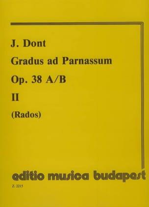 Gradus ad Parnassum op. 38 a/b 2 - Jacob Dont - laflutedepan.com