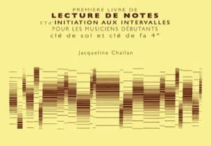 1er Livre de lecture de notes et initiation aux intervalles laflutedepan