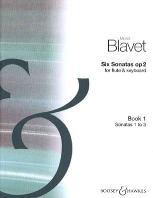 6 Sonatas op. 2 Volume 1 - Flute piano Michel Blavet laflutedepan