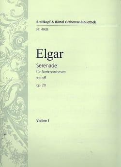 Serenade e-moll op. 20 - Matériel complet ELGAR Partition laflutedepan
