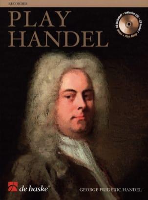 Play Handel - Flûte A Bec HAENDEL Partition laflutedepan