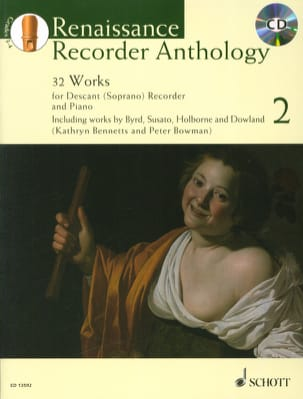Renaissance Recorder Anthology Vol. 2 Partition laflutedepan