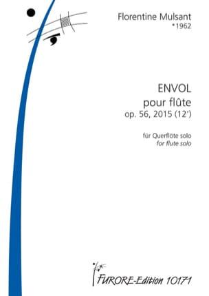 Envol - Flûte solo Florentine Mulsant Partition laflutedepan