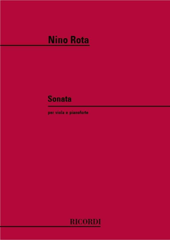 Sonate pour Alto - ROTA - Partition - Alto - laflutedepan.com