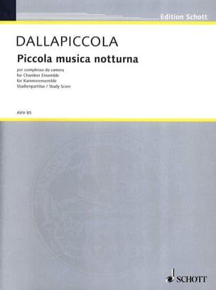 Piccola musica notturna Version de chambre - Partitur laflutedepan