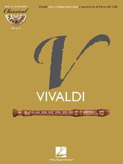 Concerto En la Min. Rv 108 VIVALDI Partition laflutedepan