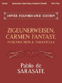 Zigeunerweisen, Carmen Fantasy, Introduction & Tarantella laflutedepan