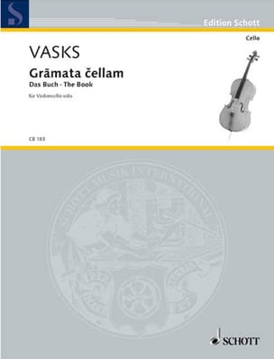 Gramata Cellam Peteris Vasks Partition Violoncelle - laflutedepan