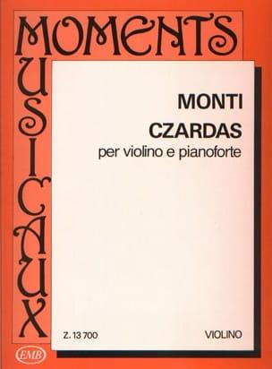 Czardas - Violon et Piano Vittorio Monti Partition laflutedepan