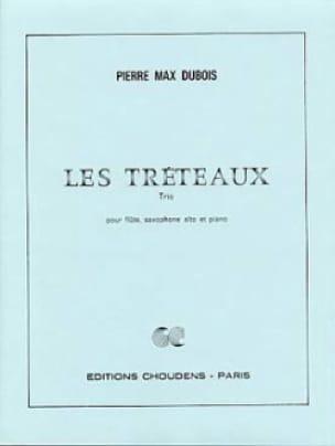 Les Tréteaux - Pierre-Max Dubois - Partition - laflutedepan.com