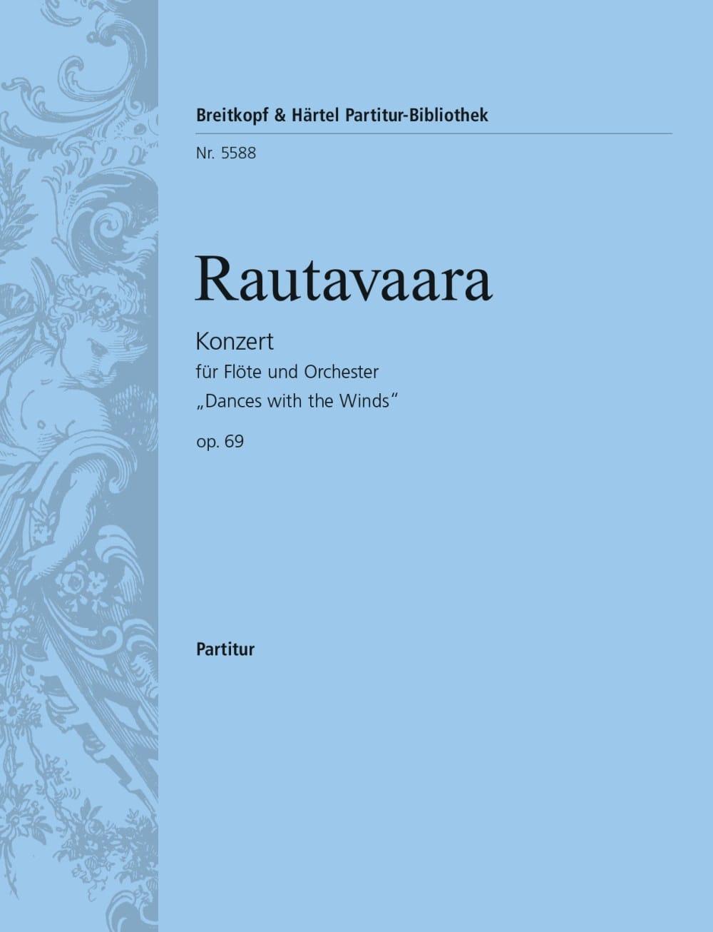 Concerto pour Flûte et Orch. - Conducteur - laflutedepan.com