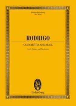 Concierto Andaluz - Partitur - RODRIGO - Partition - laflutedepan.com