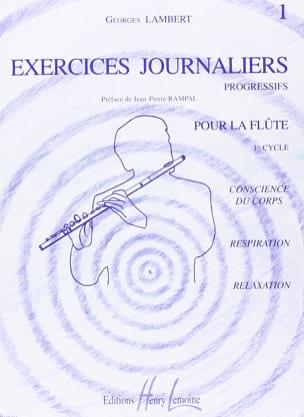 Exercices Journaliers Volume 1 Georges Lambert Partition laflutedepan