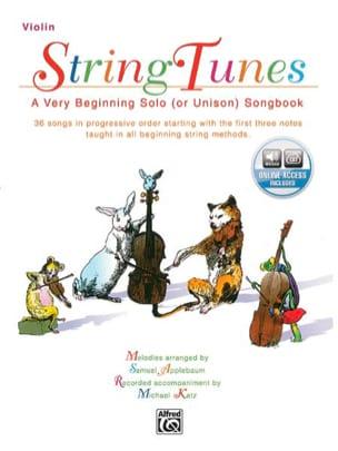 String Tunes - Violon Samuel Applebaum Partition laflutedepan