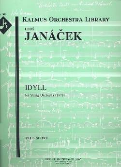 Idyll for string orchestra -Score JANACEK Partition laflutedepan