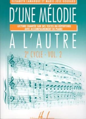 D'une mélodie à l'autre - Volume 2 - 2ème Cycle laflutedepan