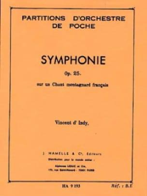 Symphonie Op. 25 - Indy Vincent D' - Partition - laflutedepan.com