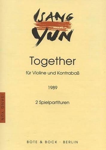 Together - Isang Yun - Partition - 0 - laflutedepan.com
