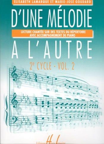 D'une mélodie à l'autre - Volume 2 - 2ème Cycle - laflutedepan.com