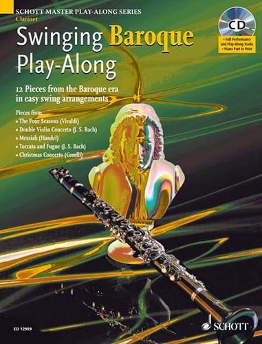 Swinging Baroque Play-Along - Partition - laflutedepan.com