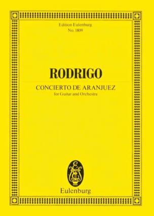 Concierto de Aranjuez RODRIGO Partition Petit format - laflutedepan
