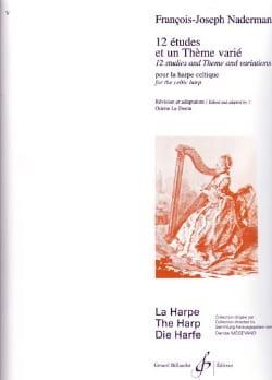 12 Etudes et un Thème varié François-Joseph Naderman laflutedepan