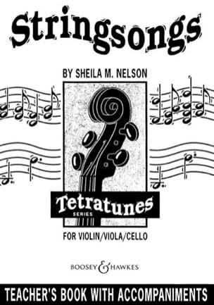 Stringsongs / Teacher's Book Sheila M. Nelson Partition laflutedepan
