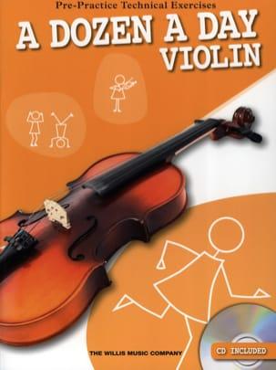 A Dozen A Day - Violon Partition Violon - laflutedepan