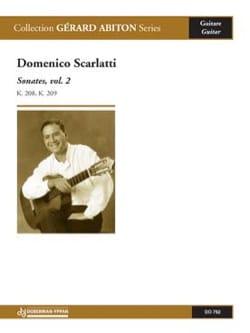 Sonates Volume 2 SCARLATTI Partition Guitare - laflutedepan