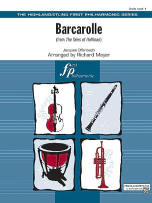 Barcarolle from The Tales of Hoffman - OFFENBACH - laflutedepan.com