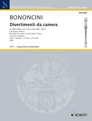 Divertimenti da Camera Volume 1 -Altblockfl. o. Violine u. BC laflutedepan