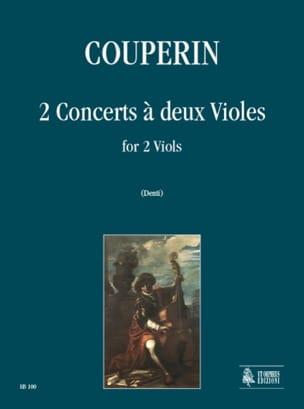 2 Concerts à deux violes COUPERIN Partition laflutedepan