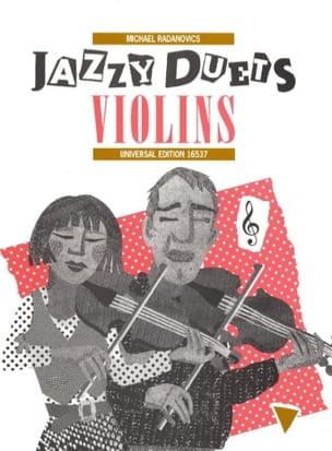 Jazzy Duets Violins avec CD Michael Radanovics Partition laflutedepan