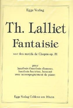 Fantaisie Sur des Motifs De Chopin Théodore Lalliet laflutedepan