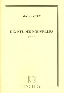 Maurice Vieux - 10 new studies alto alone - Partition - di-arezzo.co.uk