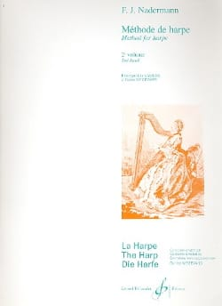 Méthode de Harpe - Volume 2 François-Joseph Naderman laflutedepan