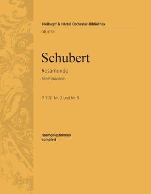 Rosamunde D797. Ballettmusiken SCHUBERT Partition laflutedepan