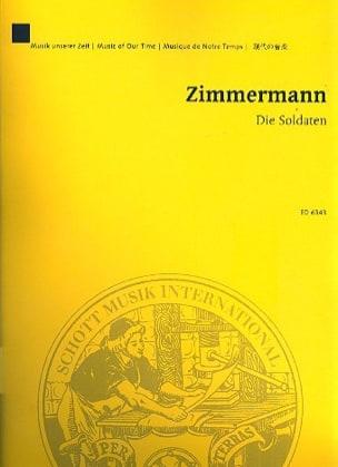 Die Soldaten 1957-65 - Partitur Bernd Alois Zimmermann laflutedepan